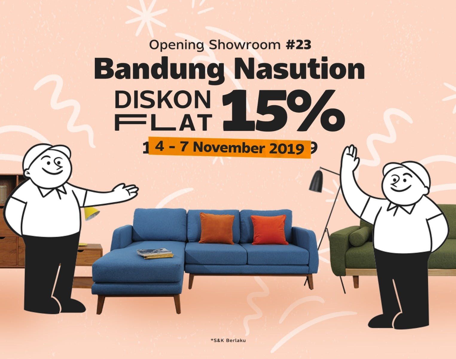Bandung Nasution Showroom Launching