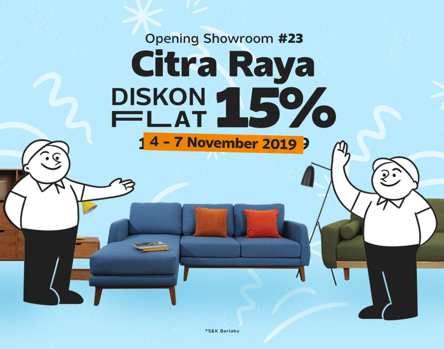 Citra Raya Showroom Launching
