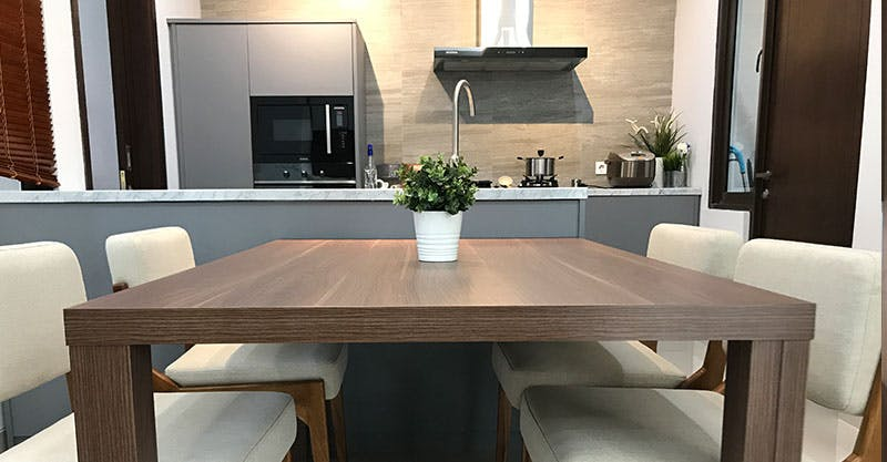 Model Kitchen Set Minimalis Tahun 2018 Paling Favorit Fabelio Com